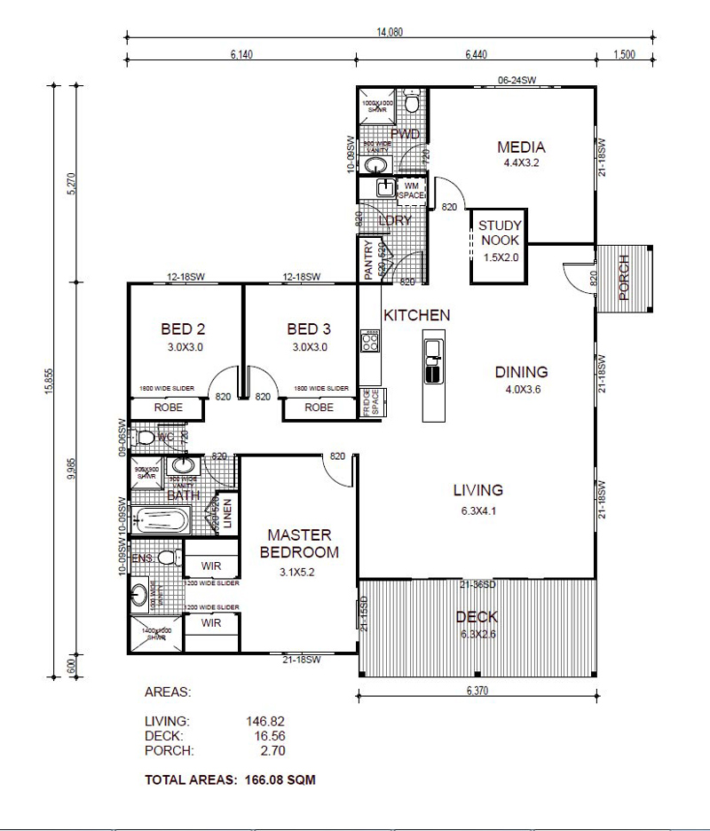 Entertainer Floorplan - Kit Home Design