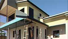 Painting Two Level Home